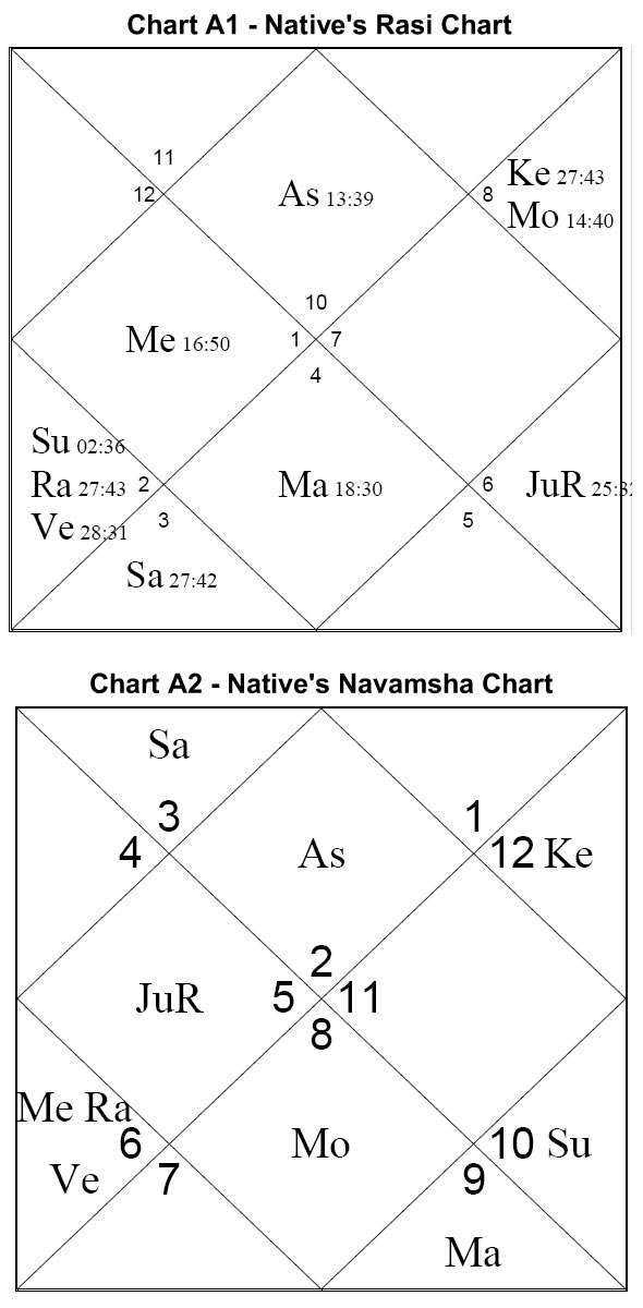 Michael Laughrin - The Navamsh Chart